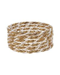 Forever 21 | White Twisted Bangle Set | Lyst
