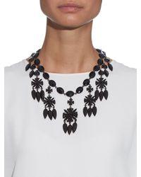 Givenchy - Black Victorian Crystal-embellished Necklace - Lyst