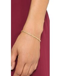 Astley Clarke - Metallic Cosmos Biography Bracelet - Gold - Lyst