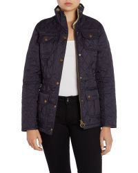 Barbour | Blue Ruskin Quilted Utility Jacket | Lyst