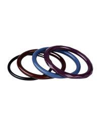 Tosca Blu | Purple Bracelet | Lyst