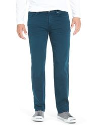 7 For All Mankind | Blue 'slimmy - Luxe Performance' Slim Fit Jeans for Men | Lyst