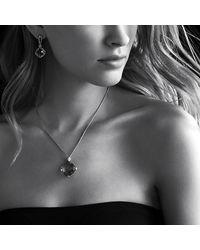 David Yurman | Purple Cushion On Point Pendant Necklace With Diamonds | Lyst