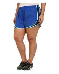 Nike - Blue Extended Sizing Tempo Track Short - Lyst
