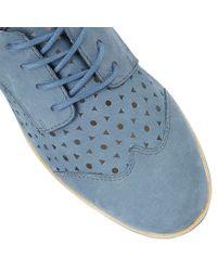 Lotus - Blue Audrey Lace-up Shoes - Lyst