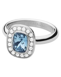 Dyrberg/Kern | Blue Dyrberg Kern Swarovski Crystal Element Ring | Lyst
