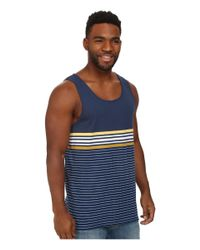 Billabong - Blue Spinner Tank for Men - Lyst