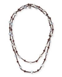 Stephen Dweck | Metallic Verona Long Freshwater Pearl Necklace | Lyst
