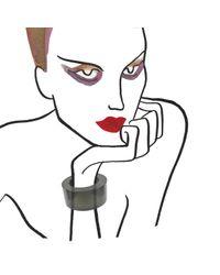 Lizzie Fortunato - Post Modern Cuff Black - Lyst