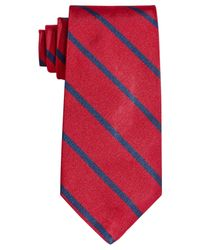 Brooks Brothers | Red Stripe Tie for Men | Lyst