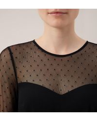 Hobbs | Black Foyle Dress | Lyst