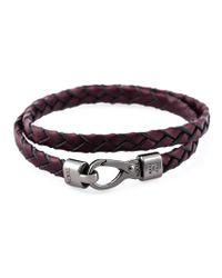 Tod's | Red 'my Colours' Bracelet for Men | Lyst
