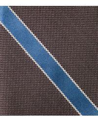 Cole Haan - Brown Hanover Panel Tie for Men - Lyst