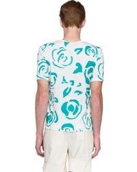 J.W.Anderson - Blue Print T-shirt for Men - Lyst