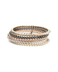 Kendra Scott | Multicolor 'remy' Stackable Bracelets - Mixed Metals (set Of 5) | Lyst