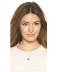 Marc By Marc Jacobs - Metallic Whistle Pendant Necklace - Argento - Lyst