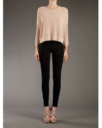 Stella McCartney - Black Skinny Trouser - Lyst