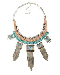 Ziba | Multicolor Ilaria Necklace | Lyst