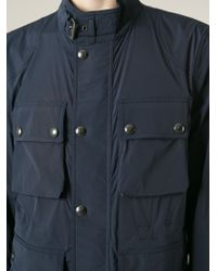 Belstaff - Blue 'barningham' Jacket for Men - Lyst