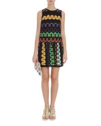 Missoni | Black Short Dress | Lyst