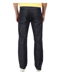 7 For All Mankind - Blue Standard Straight Leg W/ Split Seam Pocket In Anthem for Men - Lyst