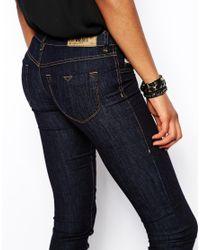 DIESEL - Black Livier Skinny Jeans - Lyst