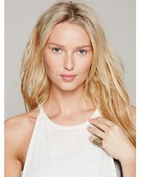 Free People - Metallic Zoemou Womens Nyazik Ring - Lyst