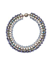 Tataborello - Purple Necklace - Lyst