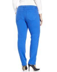 James Jeans | Blue Plus Size Twiggy Z Cigarette Leg Jeans | Lyst