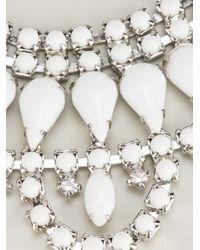 Tom Binns | White Crystal Necklace | Lyst