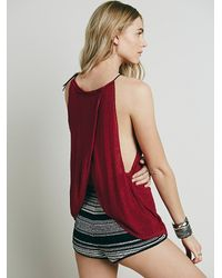Free People - Purple Cascades Cami - Lyst