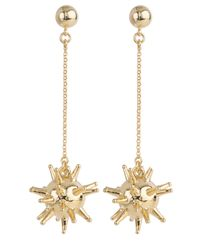 Lele Sadoughi | Metallic Sputnik Earrings | Lyst