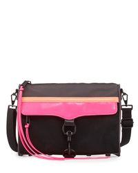 Rebecca Minkoff - Gray Mac Cross-Body Bag - Lyst