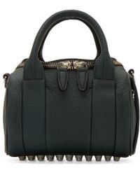 Alexander Wang | Gray Rockie Coated Leather Shoulder Bag | Lyst