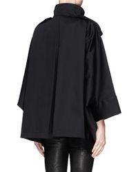 Acne Studios - Black 'ezra' Short Cocoon Coat - Lyst