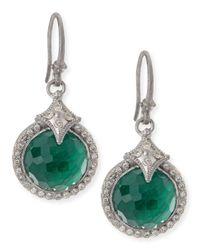 Armenta | Green New World Malachite Blue Topaz Drop Earrings | Lyst