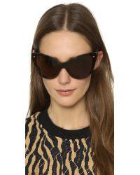 3.1 Phillip Lim | Brown Cat Eye Sunglasses | Lyst
