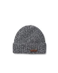 Polo Ralph Lauren | Black Open Knit Beanie for Men | Lyst