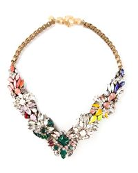 Shourouk | Multicolor 'fox Jumble' Necklace | Lyst