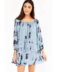Kimchi Blue | Blue Luna Gathered Dress | Lyst