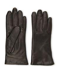 Grandoe - Black Selene Cashmere-Lined Gloves - Lyst
