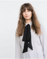 Zara White Blouse 91