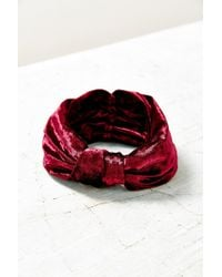 Urban Outfitters | Purple Carmen Knotted Wide Headwrap | Lyst