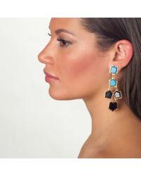 Lele Sadoughi | Blue Prism Chandelier Earrings, Starry Night | Lyst