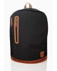 Forever 21 | Black Men Paneled Backpack for Men | Lyst