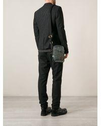 DIESEL - Blue 'Stodgee' Messenger Bag for Men - Lyst