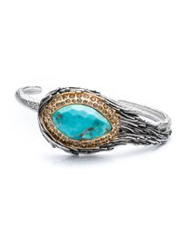 Alexis Bittar - Metallic Olmeca Feathered Cuff With Turquoise You Might Also Like - Lyst