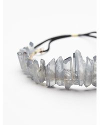 Free People | Blue Crystal Castles Crown | Lyst
