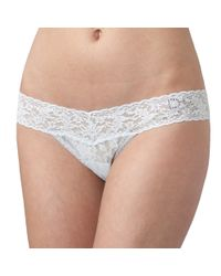 "Hanky Panky | Natural I Do"" Low Rise Thong 