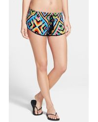 Rip Curl - Black 'hearts Desire' Shorts - Lyst